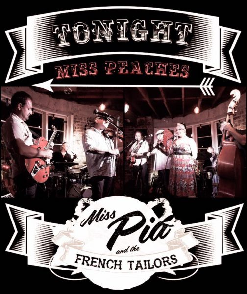 The Rockhouse Miss Pia and the French Tailors Miss Peaches Rockabilly