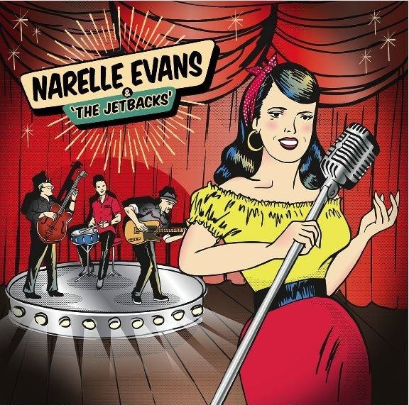 The Rockhouse Narelle Evans & The Jetbacks Miss Peaches Rockabilly