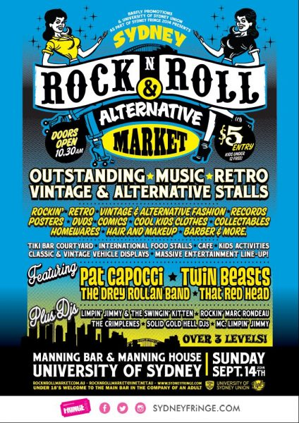 Rock N Roll Markets poster