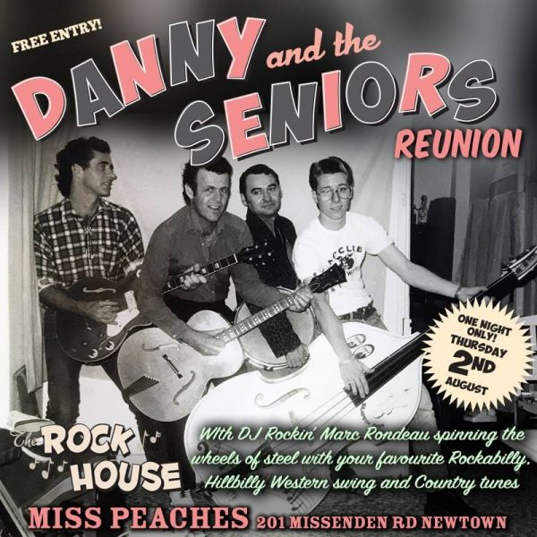 The Rockhouse Danny and the Seniors Miss Peaches Rockabilly