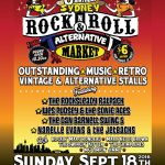 Rock and Roll markets flier