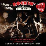 Rockin at the Vic Sunday gig